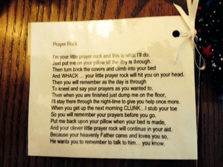 Prayer Rocks 1